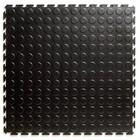 Flexi-Tile PVC Kliktegel - Noppen - Zwart-Recycled - 4,5mm