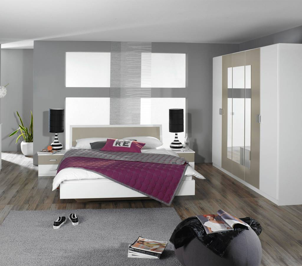 Slaapkamer roze wit grijs ~ [spscents.com]
