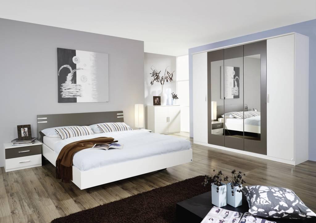 Slaapkamer Grijs Wit : Deze slaapkamerset is ook uit te breiden met ...
