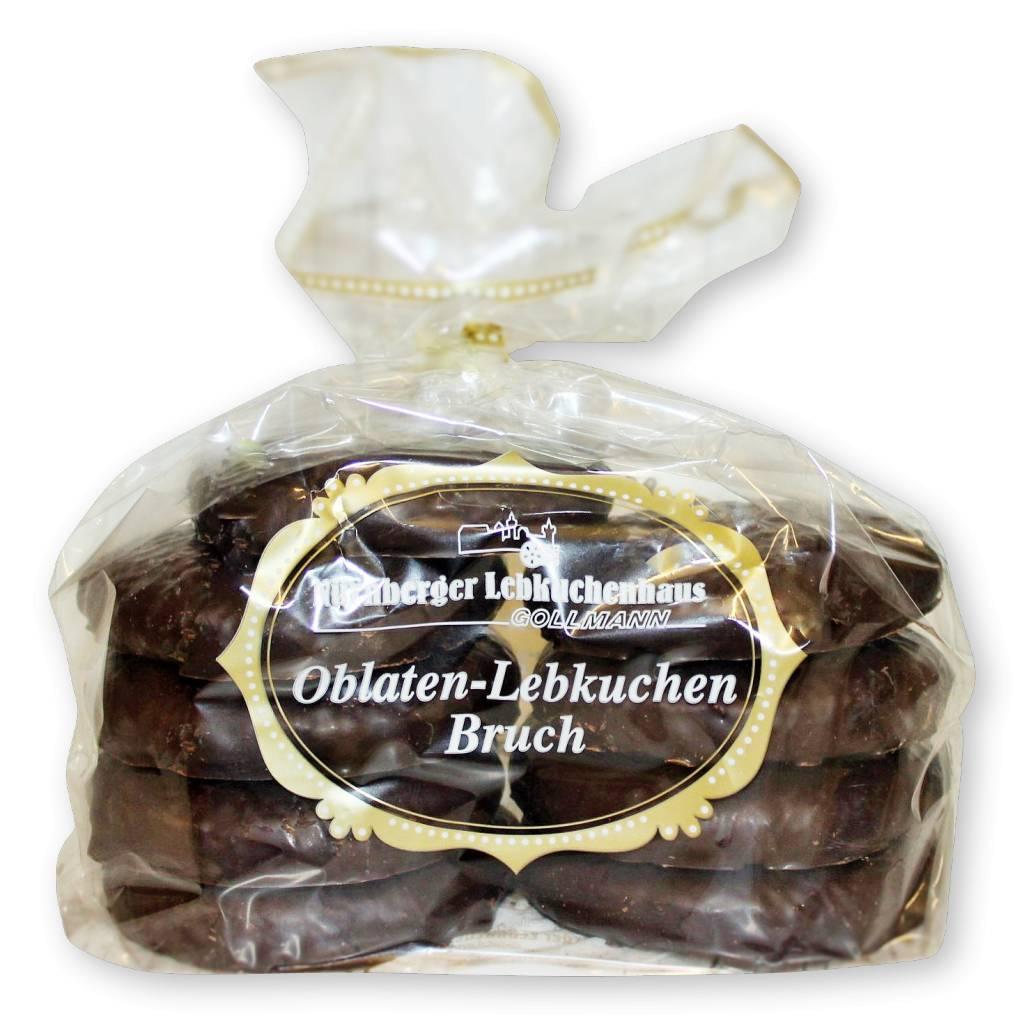 Lebkuchenhaus Gollmann Oblaten-Lebkuchen Schoko