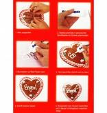 Selfmarking Gingerbread heart