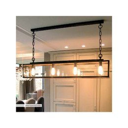 Authentage verlichting Prachtige bronzen hanglamp VIT004600