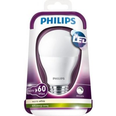 Philips E27 10W dimmable LED MAT