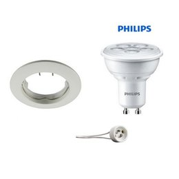 Philips Encastrable blanc GU10 LED 5Watt fixé
