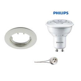 Philips Recessed WHITE GU10 LED 5Watt fixed