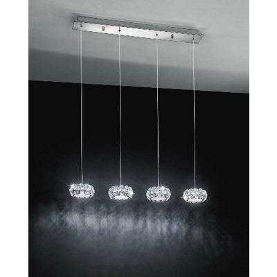 EGLO PONTEDO design LED plafondarmatuur - 4 pendels