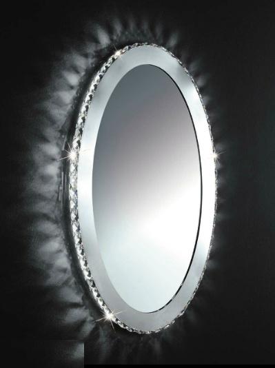 eglo toneria conception miroir mural led ovale 93 948 On miroir ovale led