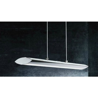EGLO Pellaro design LED ceiling fixture Chromium