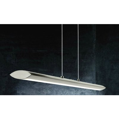 EGLO Pellaro design LED ceiling fixture Nickel