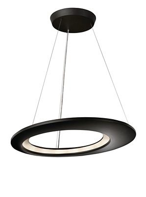 philips lirio ecliptic led pendant luminaire 4075593li. Black Bedroom Furniture Sets. Home Design Ideas