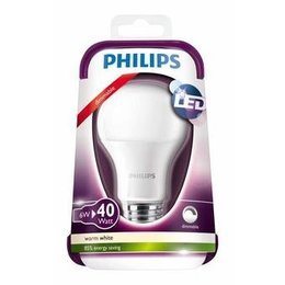 Philips E27 LED lamp 6W warm wit dimbaar