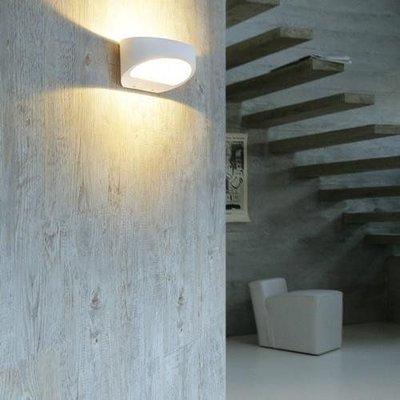 LED Outdoor Wall Light Brace white