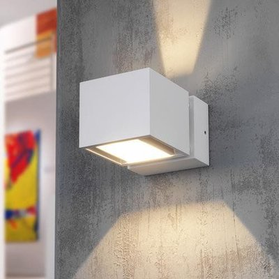 modern white LED wall light IP54 MY371