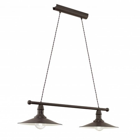 EGLO Rustic Pendant luminaire Stockbury 49457