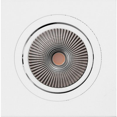 PerfectLights LED COB 9W recessed spot adjustable white dimmable 01,660,063