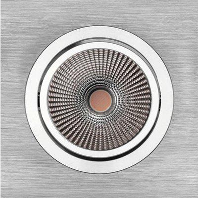 PerfectLights LED COB 9W inbouwspot richtbaar ALU geborsteld dimbaar 01660062