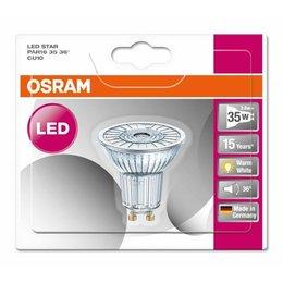 OSRAM LED 4.3-50W STAR WARM WHITE GU10 Halogen look