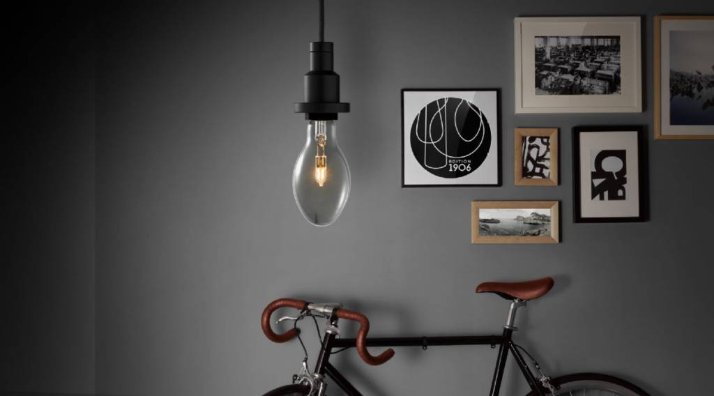 osram pendant luminaire 1906 vintage edition black. Black Bedroom Furniture Sets. Home Design Ideas