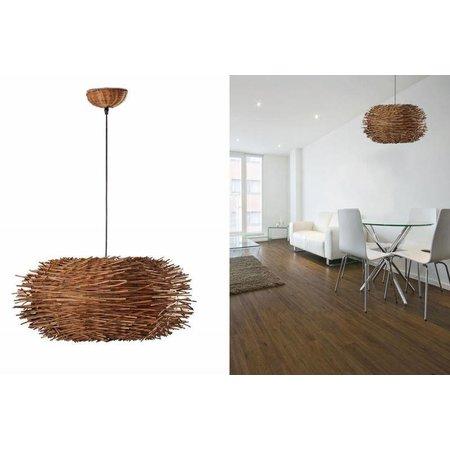 lampe led nido 68153 rotin. Black Bedroom Furniture Sets. Home Design Ideas