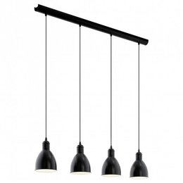 EGLO Lampe suspendue rustique Priddy 49466