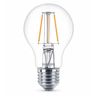 Philips E27 Retro Filament LED Classic A60 warm wit 4W