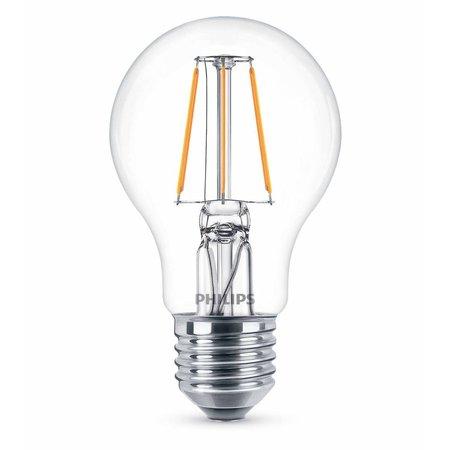 philips e27 retro classic a60 filament led warm white 4w. Black Bedroom Furniture Sets. Home Design Ideas
