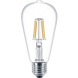 Philips E27 Retro Filament LED Classic ST64 Warm White 6W 57405800