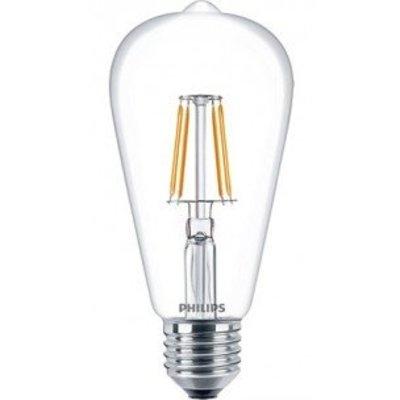 Philips E27 LED Filament Retro Classic ST64 warm white 6W