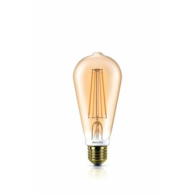 Philips LED style vintage ST64 E27 630lm 7W DIM extra blanc chaud 57573400