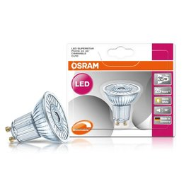 OSRAM Superstar 3-35W Dimmable GU10 LED spot