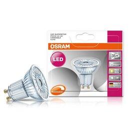 OSRAM Superstar 3-35W LED spot GU10 Dimbaar