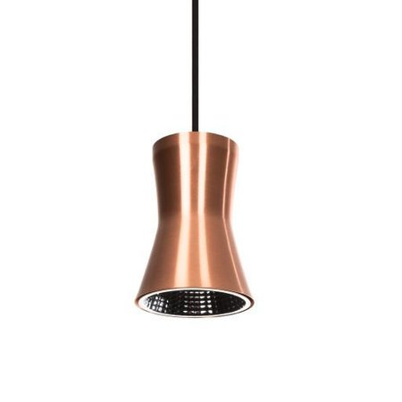 PSM Lighting Clara Design LED Pendant luminaire copper 3405.B3.28