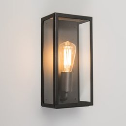 Absinthe Lighting LED Wall light Vitrum L Black 24001-02