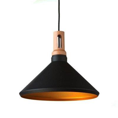 Absinthe Lighting LED Pendelarmatuur Timba Regular Zwart/goud