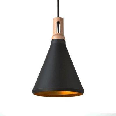Absinthe Lighting Timba Slim LED hanglamp zwart/goud 25021-02.10