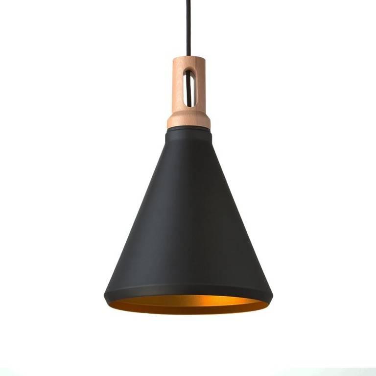 absinthe lighting timba led slim design pendant luminaire black gold 25021. Black Bedroom Furniture Sets. Home Design Ideas