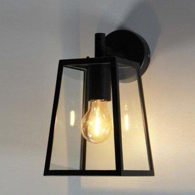 Absinthe Lighting LED Wandlamp Lucerna S Zwart 24004-02