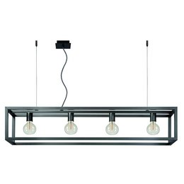 Lucide ORIS Design LED Pendant luminaire Alu 31472/04/15