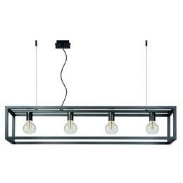 Lucide ORIS LED Design Pendelarmatuur Alu 31472/04/15