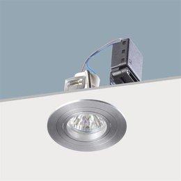 Absinthe Lighting Inbouwspot shiny R Geborsteld aluminium 11091-05