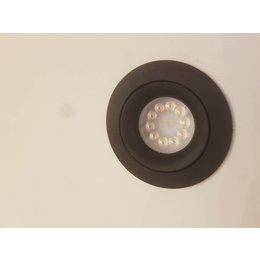 LED dimbare Inbouwspot Bloss 85 zwart