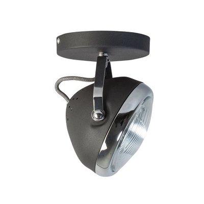 ETH Retro plafondspot Head chroom / mat zwart 05-sp1250-1130