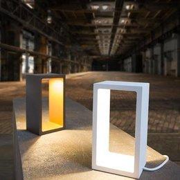 Table lamp Corridor white