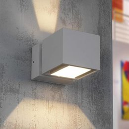 Modern LED wall fitting IP54 BFELD Alu