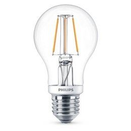 Philips E27 Retro Filament LED Classic A60 Warm White 4.5W DIM
