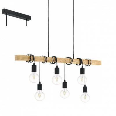 EGLO Rustic Commuter Luminaire Townshend Vintage Collection 95499