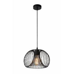 Lucide luminaire rustique Pendentif Vinti Noir 02400/30/30