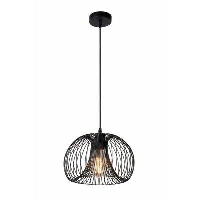 Lucide Vintage hanging lamp Vinti 02400/30/30 Black