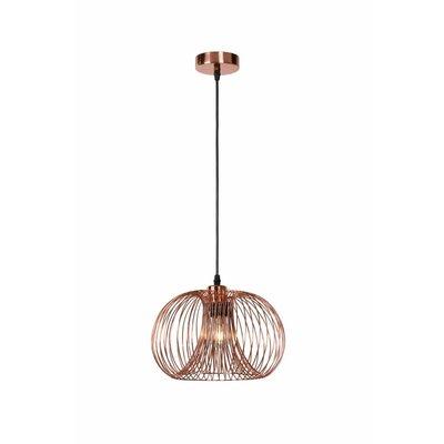 Lucide Vintage hanglamp Vinti 02400/30/17 koper