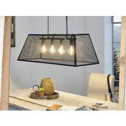 EGLO Vintage LED hanging lamp Amesbury 49799